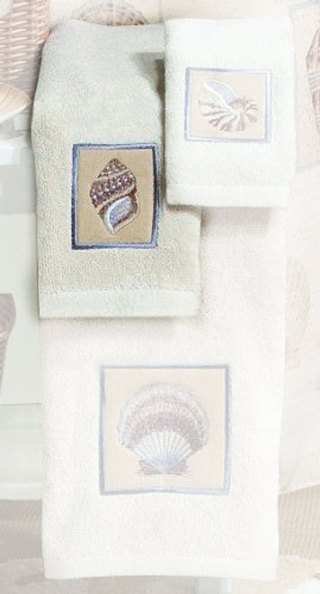 "Sea Shell ""Sarasota"" HAND TOWEL 43879"