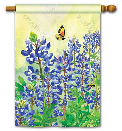 BLUEBONNET DREAM STANDARD FLAG