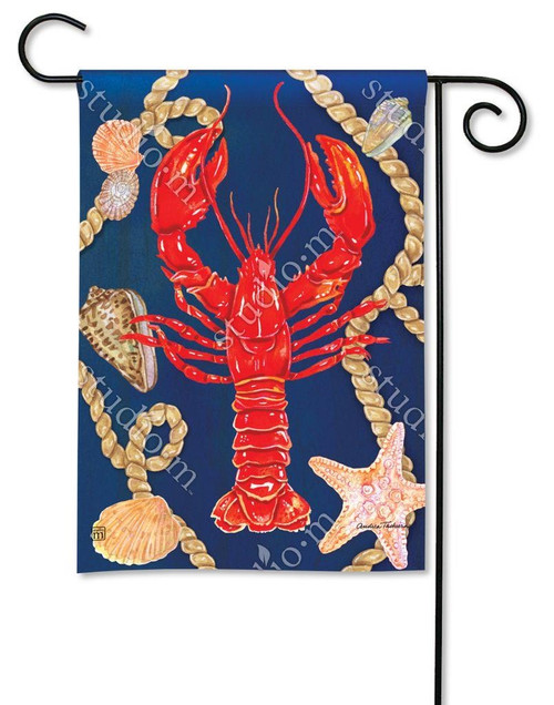LOBSTER GARDEN FLAG