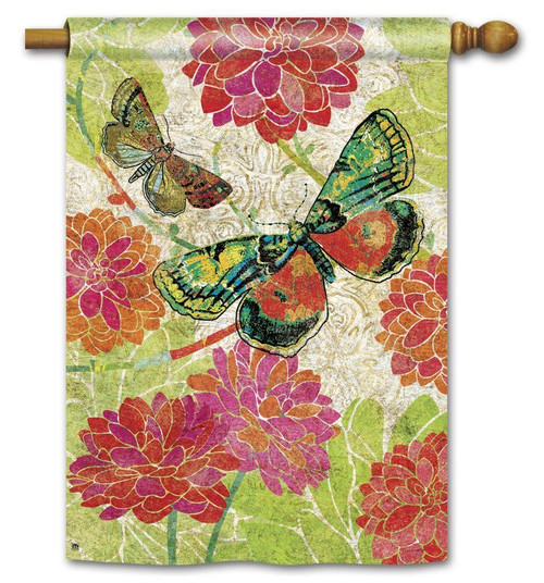 BOUTIQUE BUTTERFLIES STANDARD FLAG