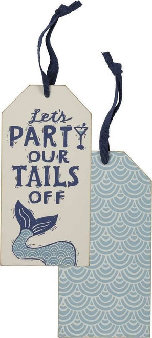 Bottle Tag - Let's Party Our Tails Off