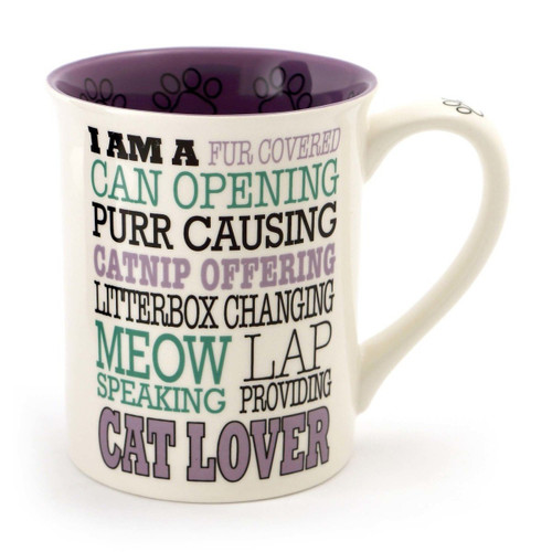 Cat Lover Typography Mug 4056366