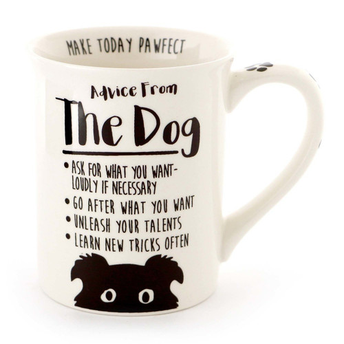 Dog Advice Coffee Mug - Simple Delights - 16oz - 6000547