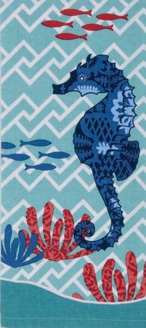 Seahorse Tea Towel R2918