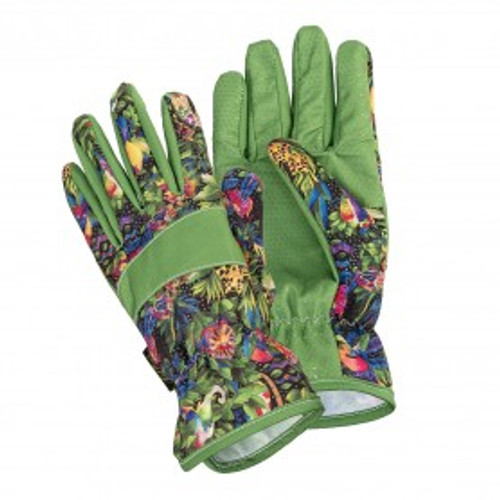 Laurel Burch - Jungle Song Garden Gloves