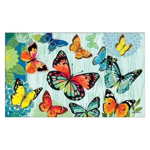 """Butterfly Flight Floor Mat 18"""" x 30"""" - 11093"""