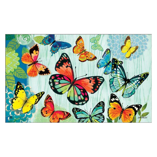 "Butterfly Flight Floor Mat 18"" x 30"" - 11093"