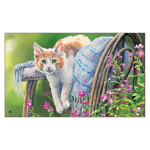"Kitty Cooling Down Floor Mat 18"" x 30"" - 11124"