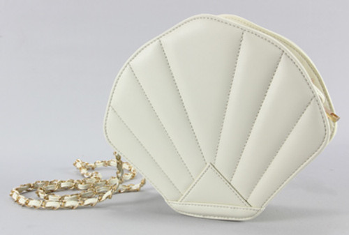 Ivory Seashell Purse 45135