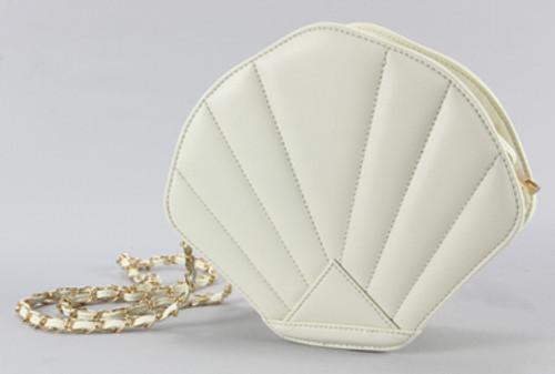 Ivory Seashell Purse 45135