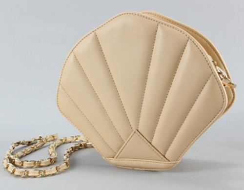 Tan Seashell Purse 45137