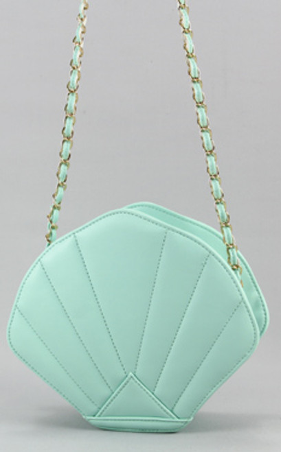 Teal Seashell Purse 45136