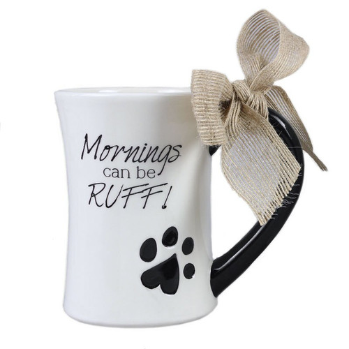 Dog Mornings Ruff Coffee Tea Mug - 15667R