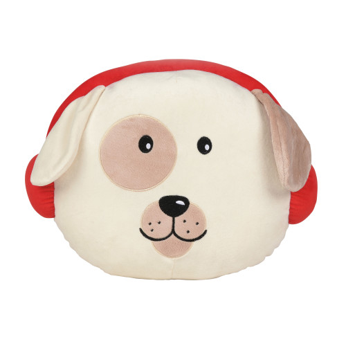 "Dog Shaped Snowpinions 15"" Wide Pillow 6002765"