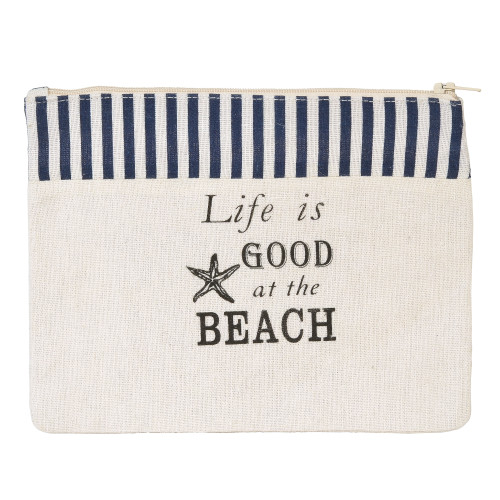 COAST - Life is Good - Cotton Zipper Cosmetic Pouch 6001910