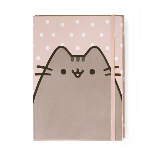"Pusheen Dots Pink 8x6"" Journal - 4060148"