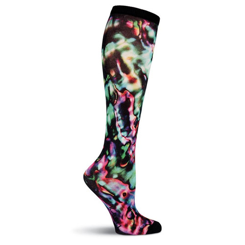K. Bell Women's Oil Spill Knee High Socks