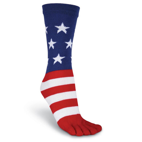 K. Bell Women's Flag Toe Socks