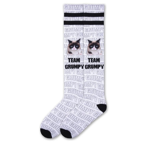 Women's Grumpy Cat Team Grumpy Knee High Socks