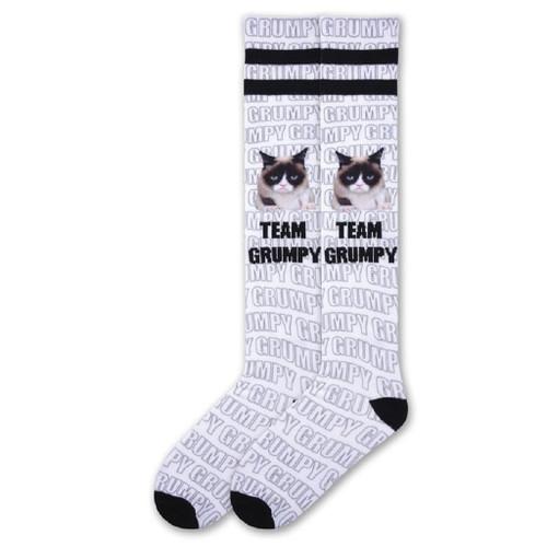 Women's Grumpy Cat Team Grumpy Knee High Socks