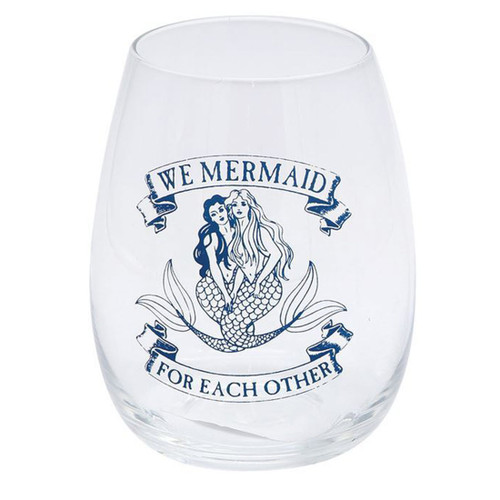 Mermaid 20oz Stemless Wine Glass - 11213A