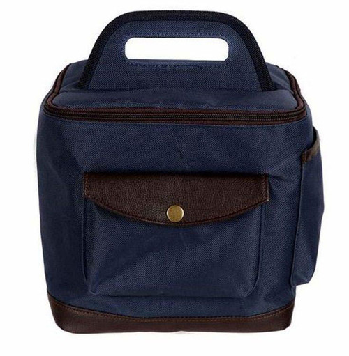 Insulated Lunch Box Tote Bag NAVY - 30034-BLUE