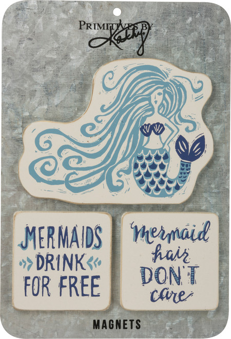 Magnet Set - Mermaid Hair, Don't Care 39081