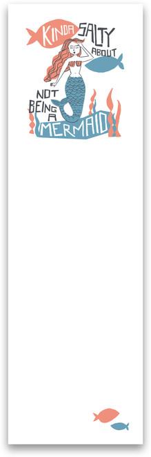 Kinda Salty Not Being A Mermaid List Notepad - 103662