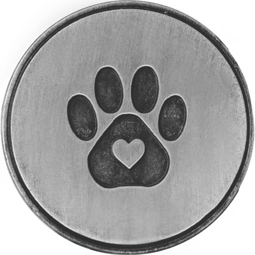 Love is a four legged word Paw Print Memory Token Coin 49761