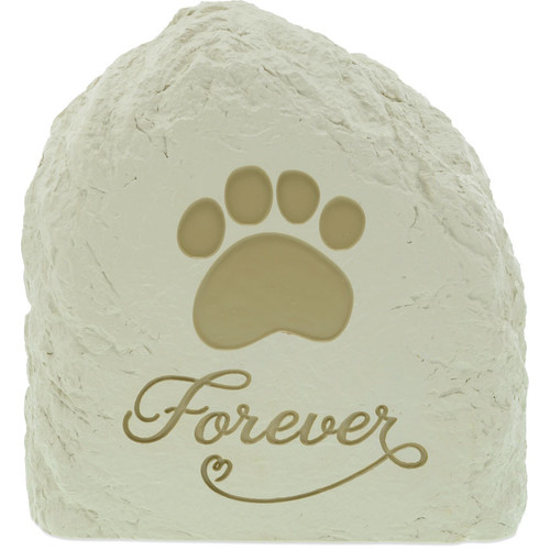 Forever Beloved Companion Rock Pet Urn Memorial 49584