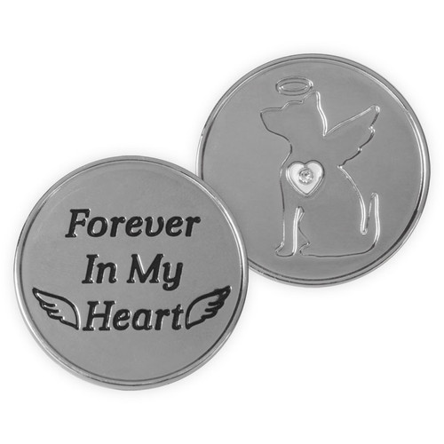 Forever in My Heart Dog Memory Token Coin 49862