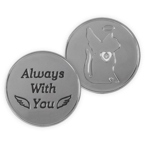 Always With You CAT Memory Token Coin 49861