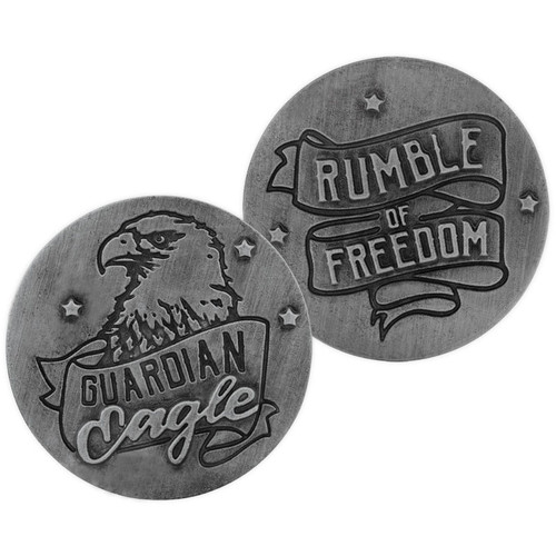 Motorcycle Rumble of Freedom Guardian Eagle Memory Token Coin 17443