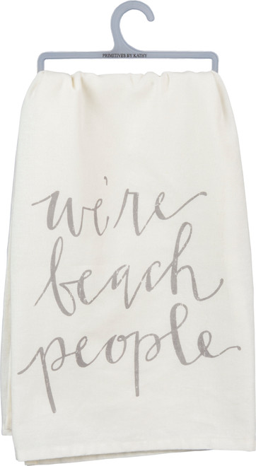 We are Beach People Cotton Dish Towel - 38264