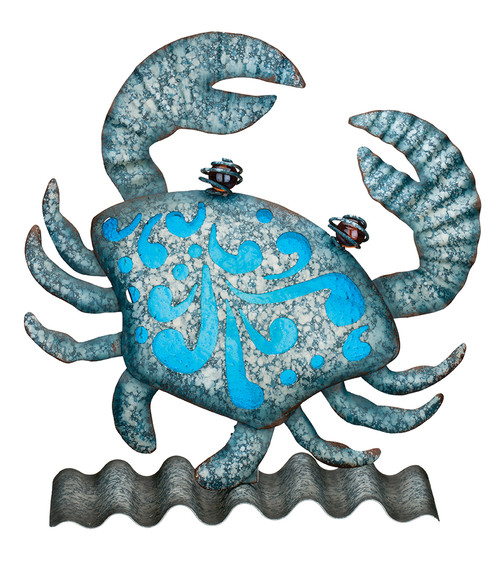 Coastal Table/Wall Decor - Crab 11679
