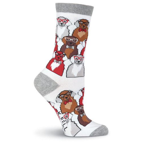 Smarty Dogs Crew Socks - KBWS19H234
