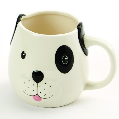 Dog Face Shaped Puppy Ceramic Mug - 90186