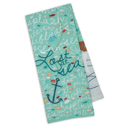 Lost at Sea Embellished Towel DishTowel - DII - 750119
