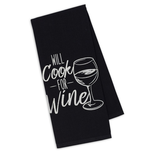 Cook for Wine Towel DishTowel - DII - 91117-T