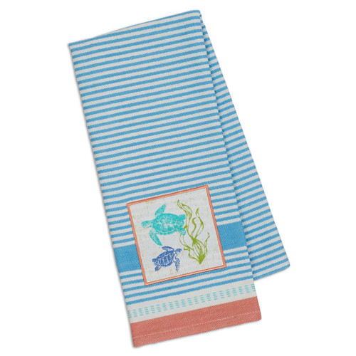Sea Turtles Embellished Towel DishTowel - DII - 90358