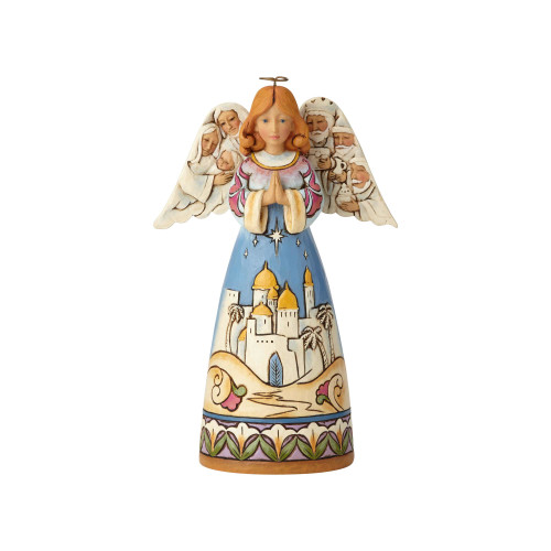 Jim Shore Nativity Angel - Bethlehem Scene Figurine 6001487