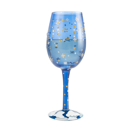 Wine Glass Dream Evening Starry Sky - 15 oz - 6004524