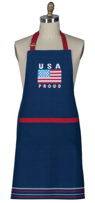 USA Embroidered Apron