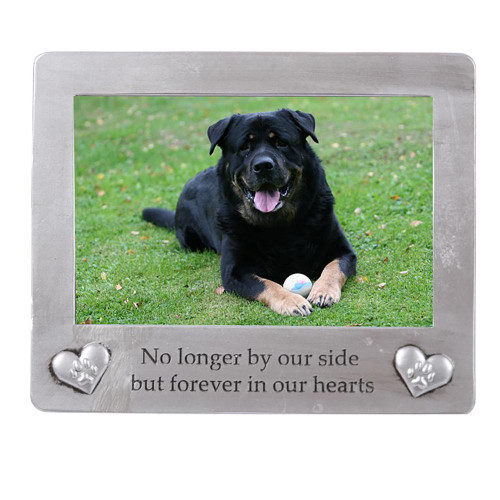 Pets Memorial Frame for 4x6 Photo Paws and Hearts 40297
