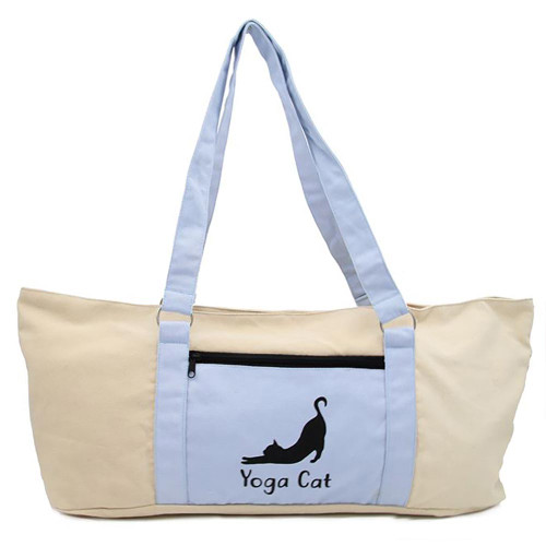 Yoga Bag 23x11 Feline Cat Tote  12125CAT