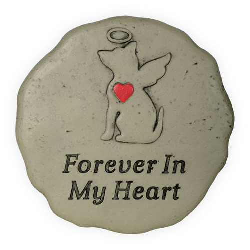 Pet Memorial Dog Angel Forever in My Heart Garden Stone 49800E