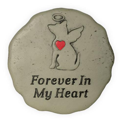 Pet Memorial Dog Angel Forever in My Heart Garden Stone 49800E