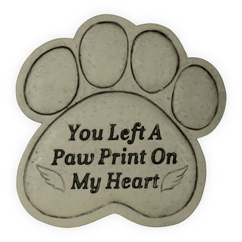 Pet Memorial You Left a Paw Print Garden Stone 49800B