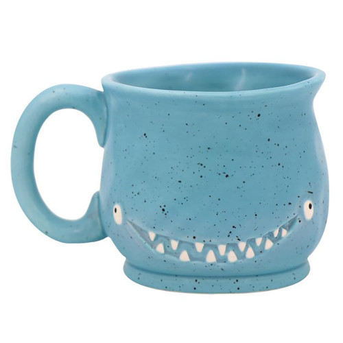 Blue Monster Whale Mug