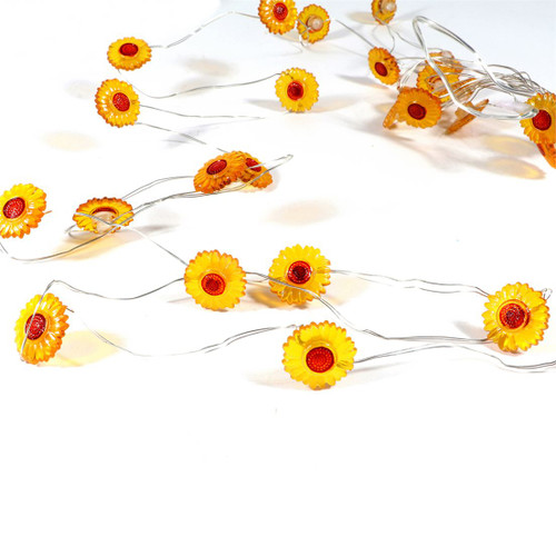 Sunflower String Lights Battery Operated 70316